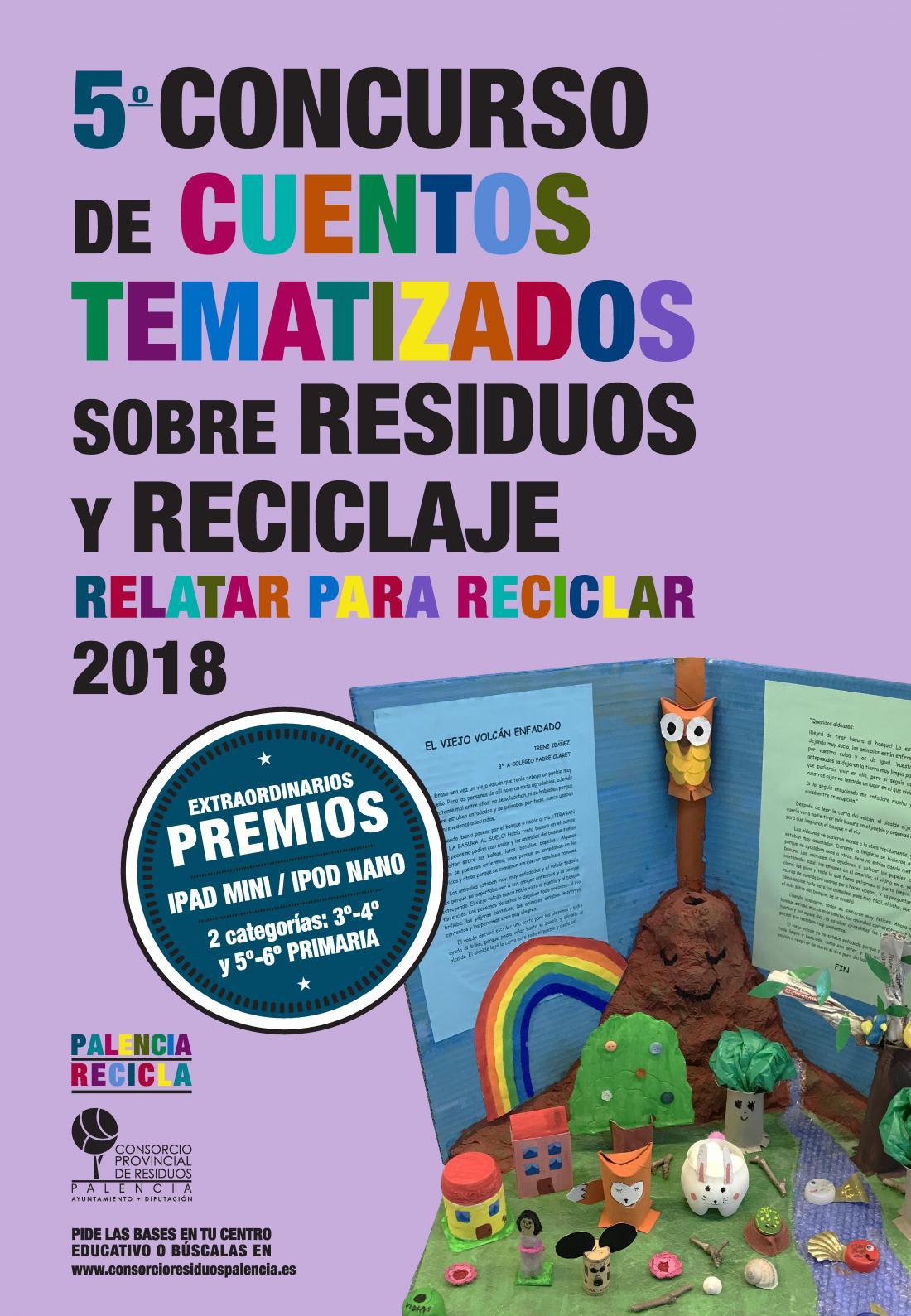 Cartel campaña Relatar para Reciclar