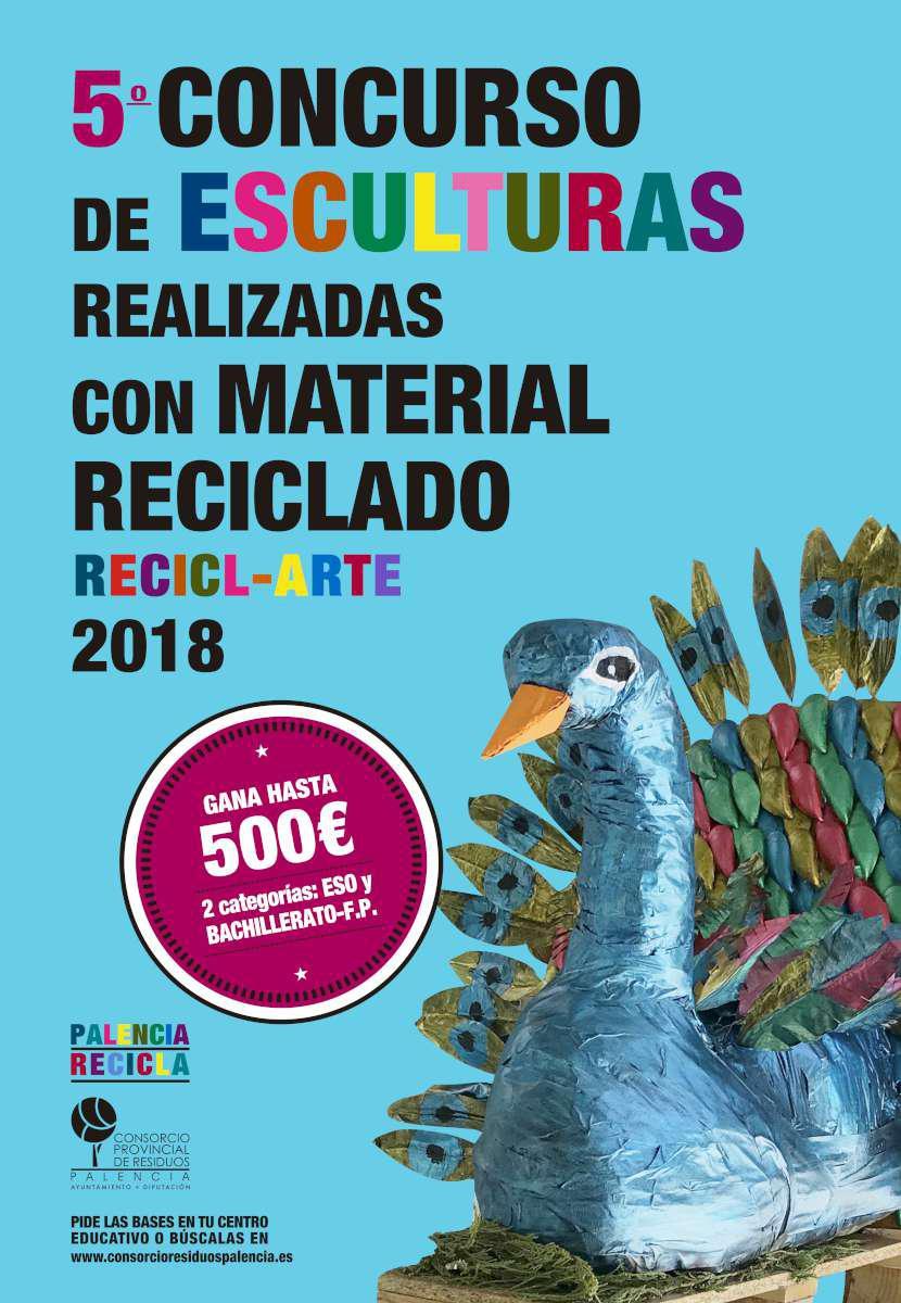 Cartel campaña RECICL-ARTE